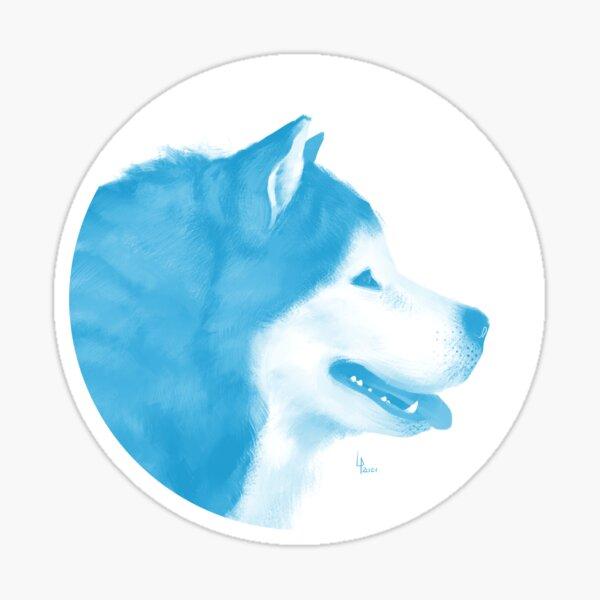Malamute - 1001 nordiques Sticker