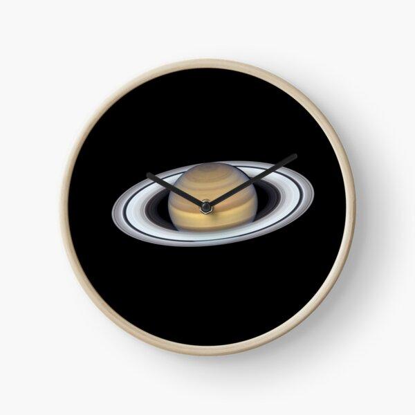 Planet, Saturn Rings Clock