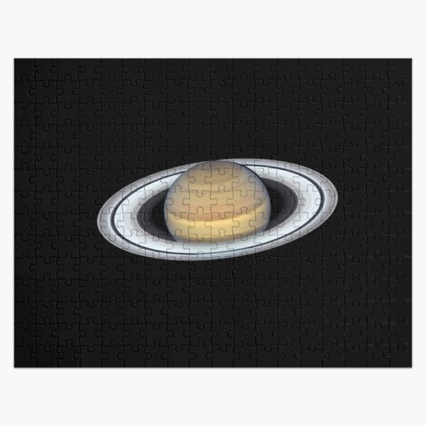 Planet, Saturn Rings Jigsaw Puzzle