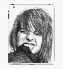 Hayley Williams Drawing iPad Case/Skin