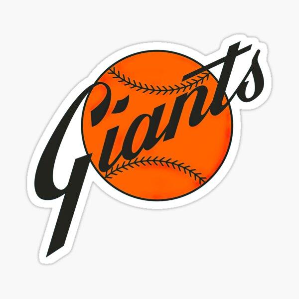 San Francisco Giants Vintage Logo Sticker