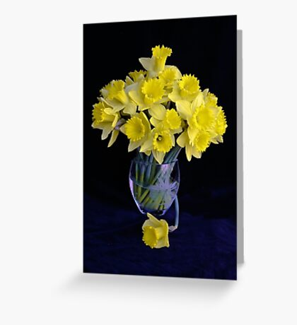 Spring Has Sprung...So I Brought It Indoors! Greeting Card