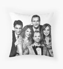 How I Met Your Mother Drawing Throw Pillow