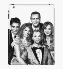 How I Met Your Mother Drawing iPad Case/Skin