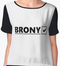 Brony? Brony! Chiffon Top