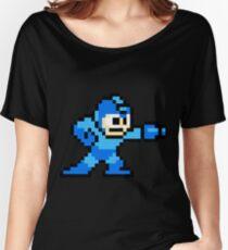 Mega Man Game 8-Bits Women's Relaxed Fit T-Shirt