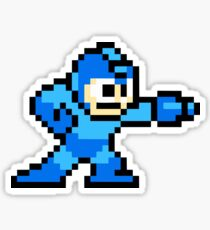 Mega Man Game 8-Bits Sticker