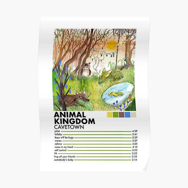 Animal Kingdom by Cavetown Poster