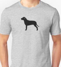 American Pit Bull Terrier Silhouette(s) Slim Fit T-Shirt