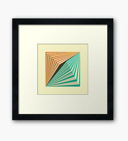 TRANSMISSION 5 Framed Print