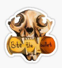 Bite the Bullet Sticker
