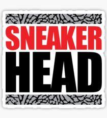 Sneaker Head Elephant Sticker