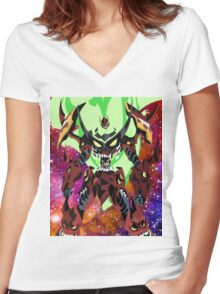 Gurren Lagann  Women's Fitted V-Neck T-Shirt