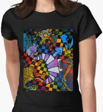 spleen dream one eh Women's Fitted T-Shirt