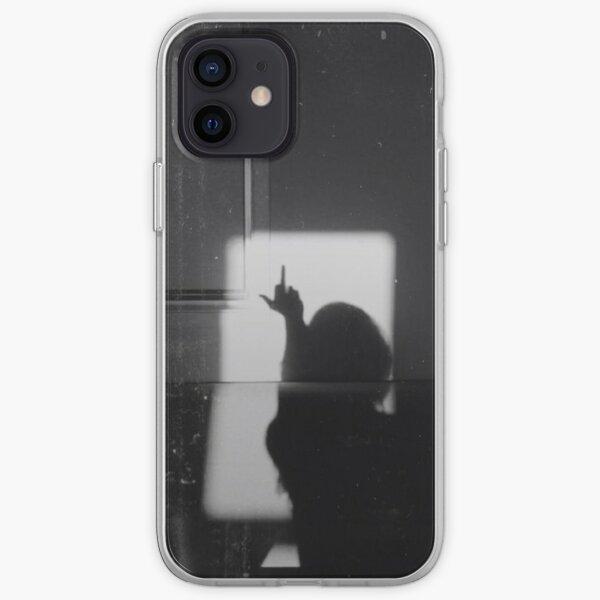 Doigts du milieu vers le haut Coque souple iPhone