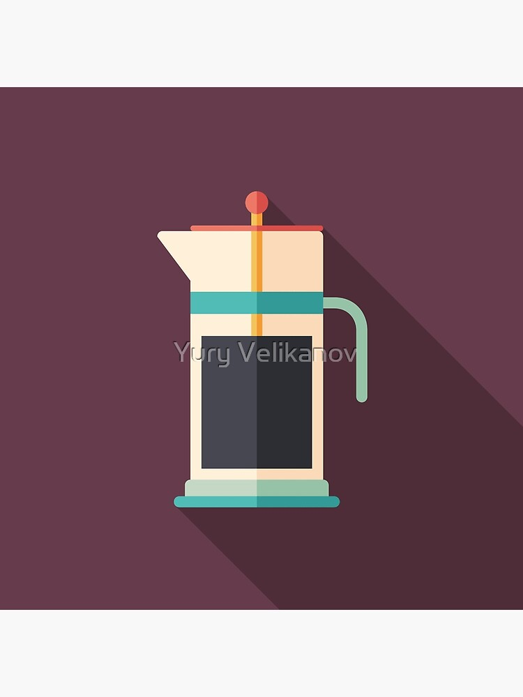 French Press Coffee by yury-velikanov