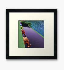 Fountain of Fortune Framed Print