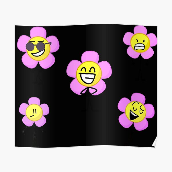 bfb flower pack of five  Poster