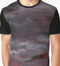 Sea of Blood, Leaden Sky Graphic T-Shirt