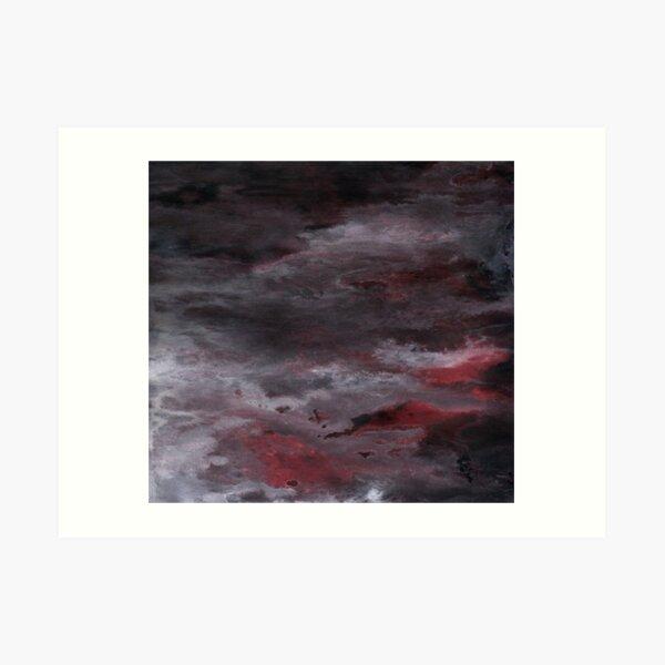 Sea of Blood, Leaden Sky Art Print