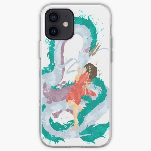 Love of a girl and her Water Spirit iPhone Soft Case