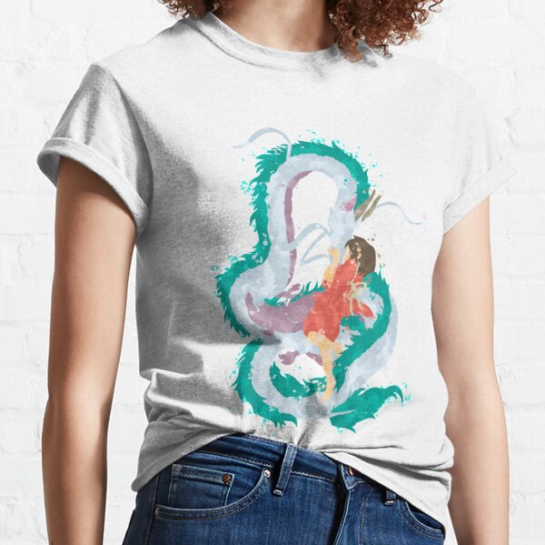 Love of a girl and her Water Spirit Classic T-Shirt