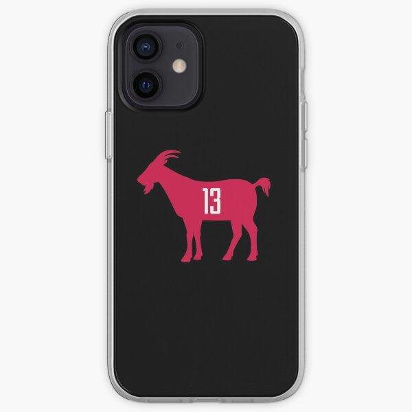 HOU GOAT - 13 - black iPhone Soft Case