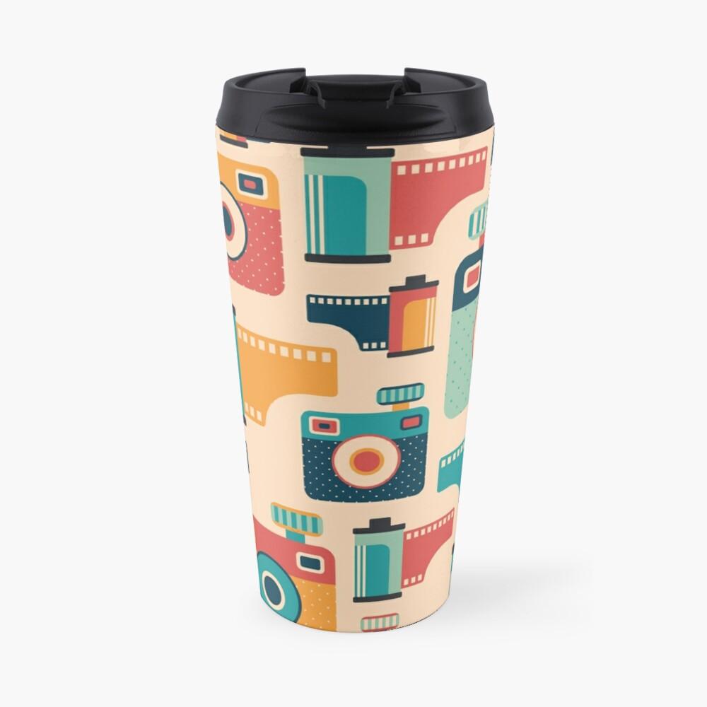 Film Rolls and Cameras Travel Mug