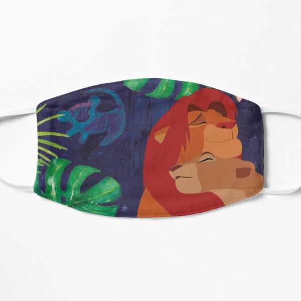 Le roi Lion Masque sans plis