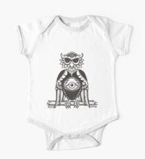 3RD EYE OWL white Kids Clothes