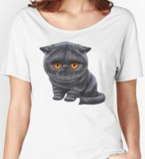 Cataclysm - Exotic Shorthair Kitten - Classic Women's Relaxed Fit T-Shirt