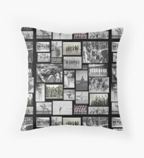 Vintage Swimmers - Tiled Format  Throw Pillow