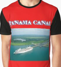 Panama Canal Graphic T-Shirt