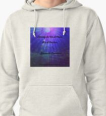 Eternity Is A Position by Diamante Lavendar Pullover Hoodie