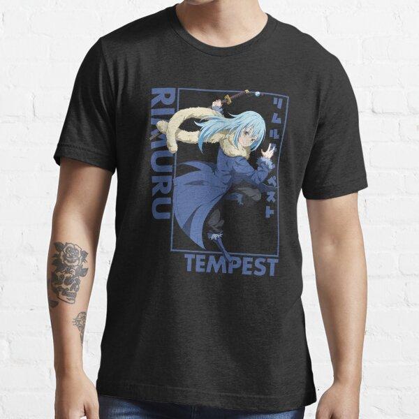 Rimuru Tempest - That Time I Got Reincarnated as a Slime - Portrait Essential T-Shirt