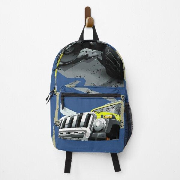 Cool Monster Trucks Rule - Gravedigger - Big Wheels Backpack