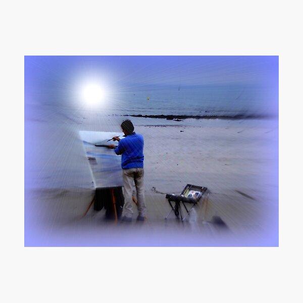 An Artist at Work Photographic Print