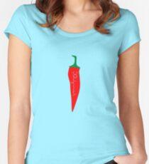 Capsaicin Chilli Women's Fitted Scoop T-Shirt