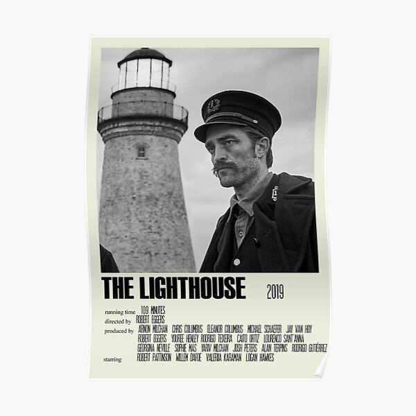 The Lighthouse Alternative Poster Art Movie Large (2) Poster