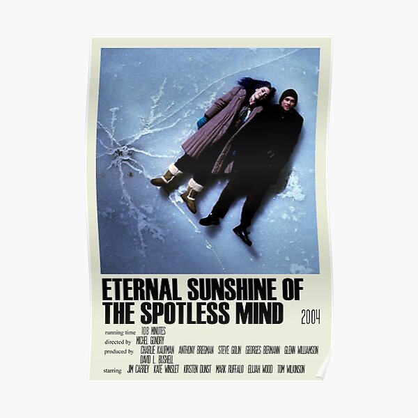 Eternal Sunshine of the Spotless Mind Alternative Poster Art Movie Large (1) Poster