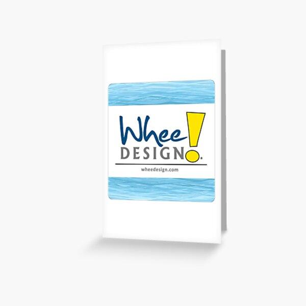 Whee! Design Logo Greeting Card