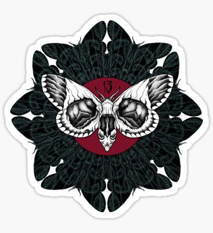 Mothzilla Sticker