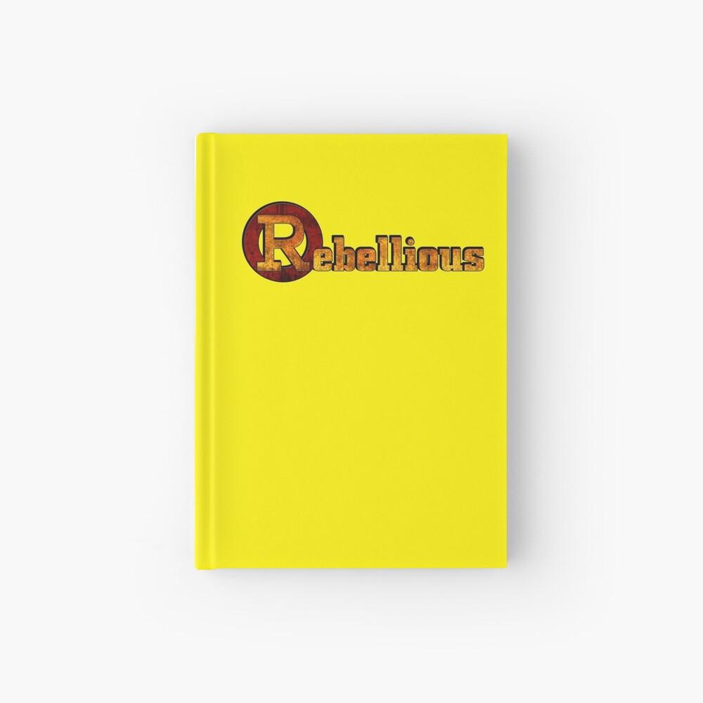 Rebellious Hardcover Journal