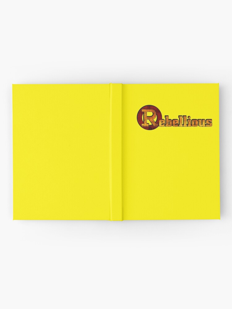 Alternate view of Rebellious Hardcover Journal