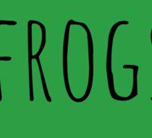 Frog Love Sticker