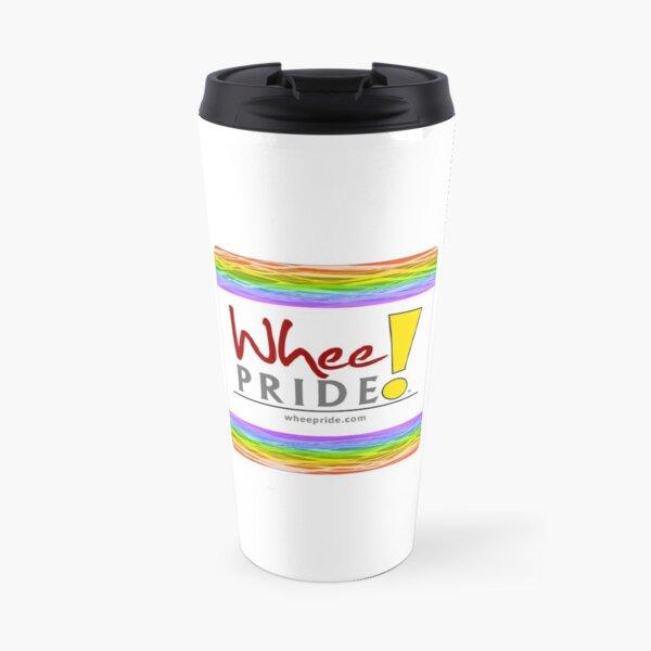 Whee! Pride Logo Travel Mug