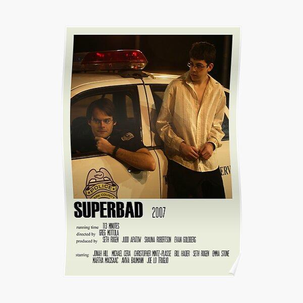 Superbad Alternative Poster Art Movie Large (5) Poster