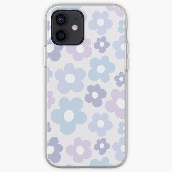 Pastel Purple, Pink, Blue Flower Aesthetic Pattern: Golf le Fleur Inspired iPhone Soft Case