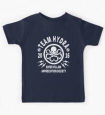 Team Hydra Super Villain Appreciation Society Kids Clothes