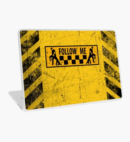 follow me dancer - used look Laptop Skin